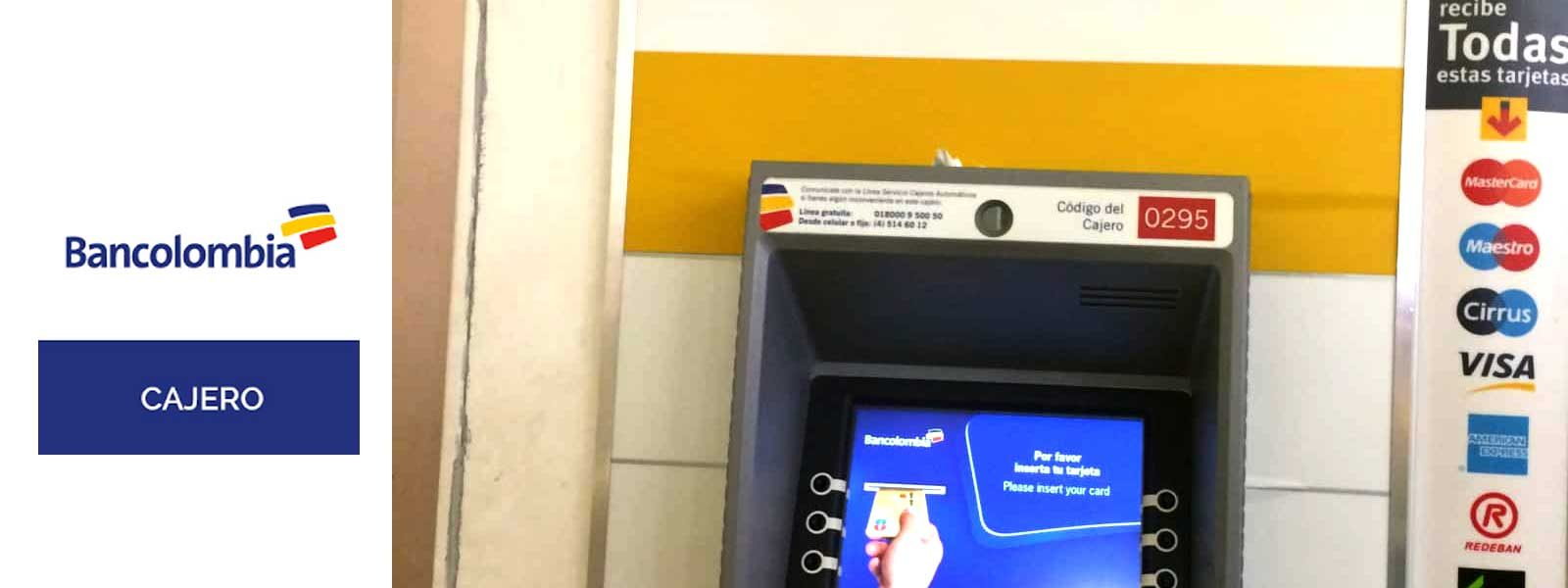 Cajero ATM Bancolombia